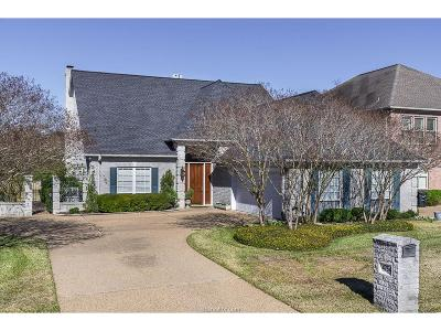 College Station Single Family Home For Sale: 4754 Stonebriar Circle
