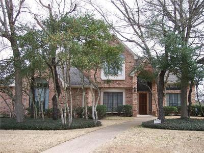 College Station Single Family Home For Sale: 1004 Winged Foot Drive