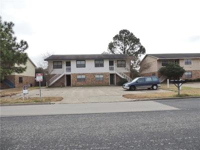 Brazos County Multi Family Home For Sale: 706 Navarro Drive #A-D