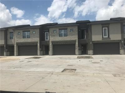 Bryan  , College Station Condo/Townhouse For Sale: 2931 Papa Bear Drive