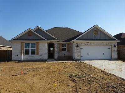 Bryan Single Family Home For Sale: 3036 Embers Loop