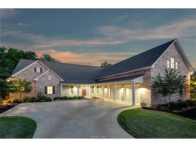 Brazos County Single Family Home For Sale: 3048 Hickory Ridge