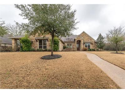 Brazos County Single Family Home For Sale: 1304 Mission Hills Drive