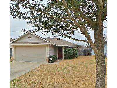 Bryan Single Family Home For Sale: 1106 Cottage Grove Circle