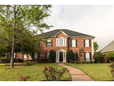 Brazos County Single Family Home For Sale: 4912 Augusta