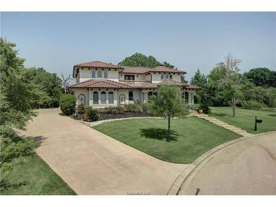 Brazos County Single Family Home For Sale: 3314 Emory Oak Drive