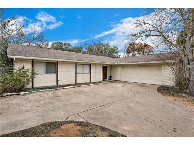 Brazos County Single Family Home For Sale: 1203 Holleman Drive