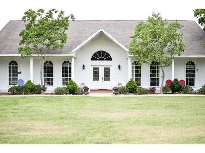 Bryan Single Family Home For Sale: 5970 Dick Elliott Road