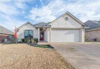 Bryan , College Station  Single Family Home For Sale: 144 Walcourt Loop