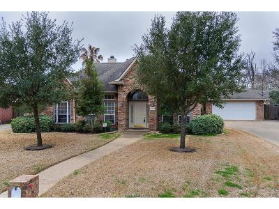Brazos County Single Family Home For Sale: 4602 Birdie Court