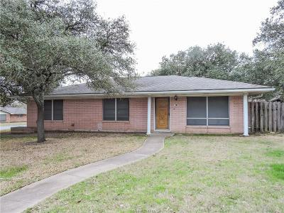 Bryan Single Family Home For Sale: 3814 Ranger Drive
