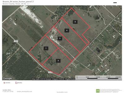 Bryan Residential Lots & Land For Sale: Tract 4 North Oak Lake Road Farm To Market Road