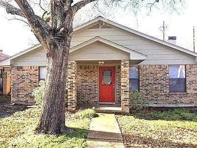 Bryan Single Family Home For Sale: 2809 Broadmoor Drive