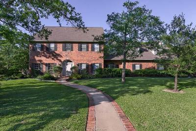 Brazos County Single Family Home For Sale: 2907 Camille Drive