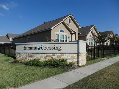 College Station Condo/Townhouse For Sale: 1757 Summit Crossing Lane