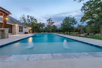 Brazos County Single Family Home For Sale: 4663 Stony Brook