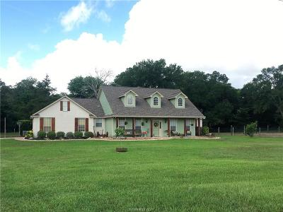 Bryan Single Family Home For Sale: 8333 Wheelock Hall Road