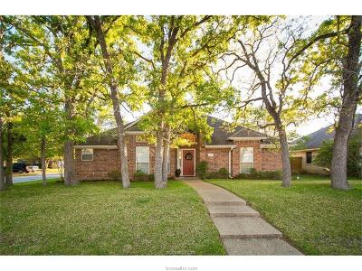 Brazos County Single Family Home For Sale: 2912 Mirrormere