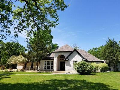 Burleson County Single Family Home For Sale: 43.85 Acres Fm 3058