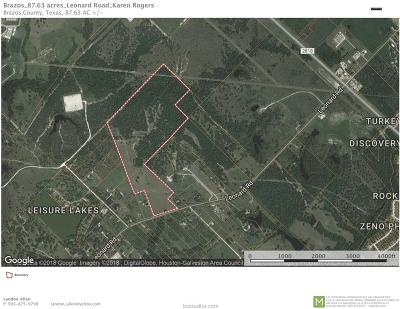 bryan Residential Lots & Land For Sale: 4600 Leonard Road