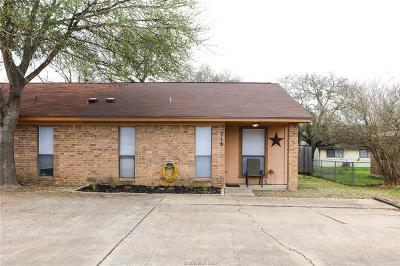 College Station TX Single Family Home For Sale: $104,900