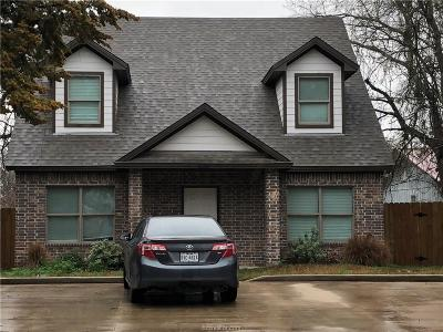 Bryan , College Station Single Family Home For Sale: 226 Lynn Drive