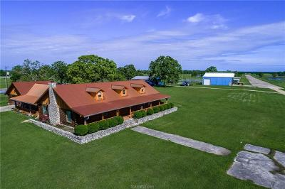 Grimes County Single Family Home For Sale: 2700 County Road 123