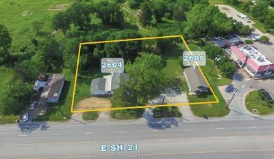 Bryan Residential Lots & Land For Sale: 2608 E Sh-21