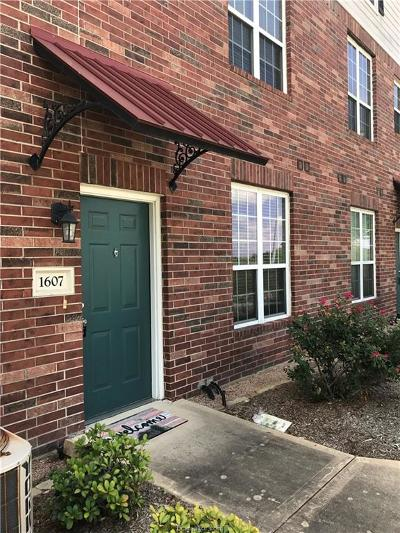 College Station TX Condo/Townhouse For Sale: $144,900