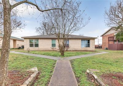 Brazos County Multi Family Home For Sale: 703 Wellesley Court #A-B