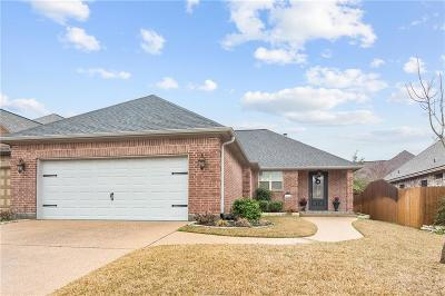 Bryan , College Station  Single Family Home For Sale: 4222 Rock Bend Drive