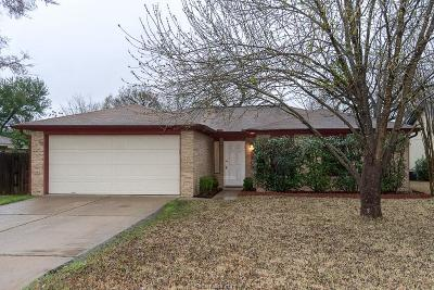 College Station TX Single Family Home For Sale: $165,000