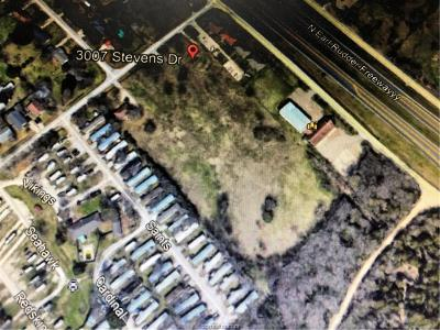 bryan Residential Lots & Land For Sale: 3007 Stevens Drive
