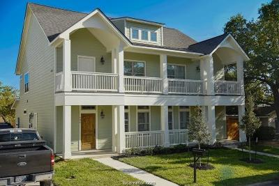 College Station Multi Family Home For Sale: 309 Live Oak Street #A&B