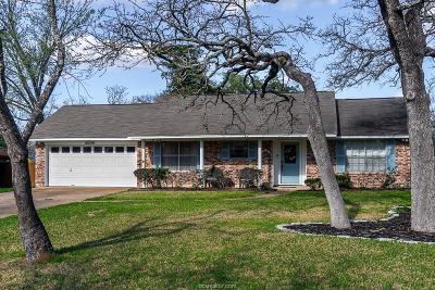 Brazos County Single Family Home For Sale: 2009 Rayburn Court