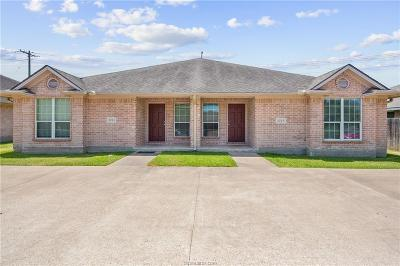 Bryan , College Station Multi Family Home For Sale: 3764-3766 Oldenburg Lane