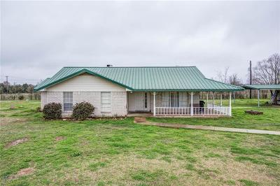 Bryan Single Family Home For Sale: 15772 Fm 974