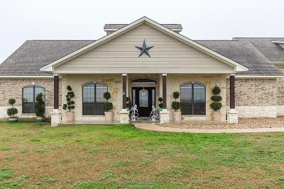 Grimes County Single Family Home For Sale: 9560 County Road 121