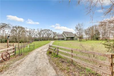 Hearne Single Family Home For Sale: 11230 Dunns Fort Road