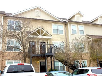 College Station Condo/Townhouse For Sale: 1725 Harvey Mitchell #1731