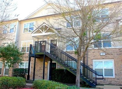College Station Condo/Townhouse For Sale: 1725 Harvey Mitchell #124