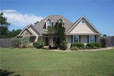 Bryan , College Station Single Family Home For Sale: 4590 Greens Prairie Trail