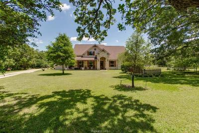 Brazos County Single Family Home For Sale: 1950 Peach Creek Road