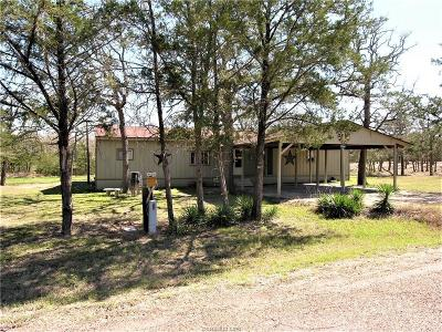 Burleson County Single Family Home For Sale: 508 Wilderness Road