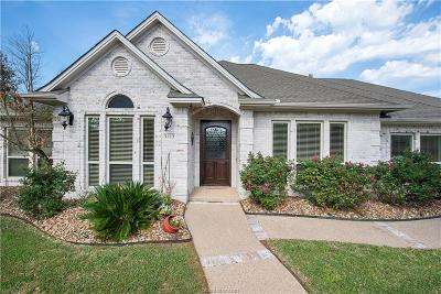 College Station Single Family Home For Sale: 5113 Congressional Drive