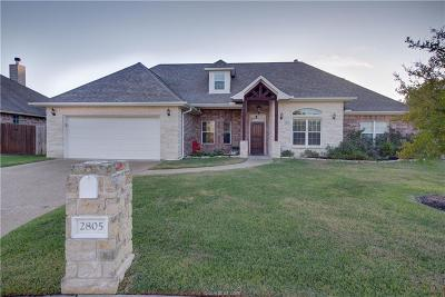 Bryan Single Family Home For Sale: 2805 Althea Court