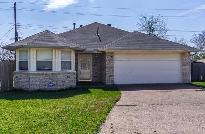 Bryan Single Family Home For Sale: 2708 Allen Ridge Drive
