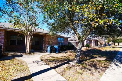 College Station Multi Family Home For Sale: 1608 South Dexter Drive