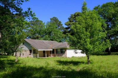 Navasota Single Family Home For Sale: 17183 Whippoorwill Road