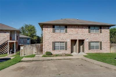 Bryan , College Station Multi Family Home For Sale: 1205 Vinyard #A/B